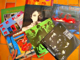 Variabler Musikgeschmack: Vinylplatten: Kate Bush, Meat Loaf, Lords of the New Church