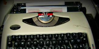 Das frühe Schreibgerät vieler digitaler Immigranten. Zum Glück verstaubt.
