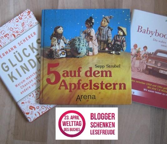 Geboren in den Sechzigern verlost drei Bücher zum Welttag des Buches