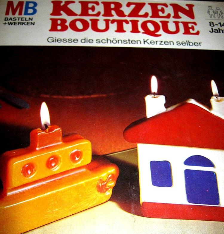 Kerzengießen – als Hobby eindeutig zu gering geschätzt.