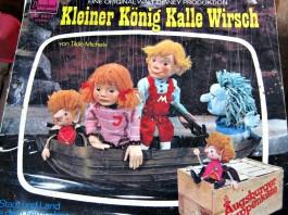Es gibt sie noch: die Schallplatte vom kleinen König Kalle Wirsch. Nur der Plattenspieler fehlt ...
