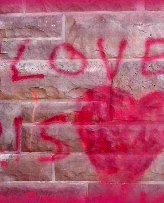 Das Gegenteil von Hass ist Liebe.
